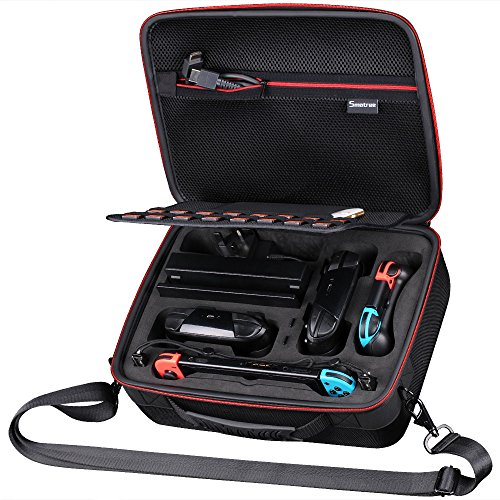 Smatree Hard Carrying Case N600 Compatible for Nintendo Switch-Fit for Pro Controller/Ultimate Edition Pro Controller