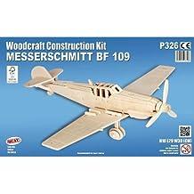 Messerschmitt Bf 109 - QUAY Woodcraft Construction Kit FSC