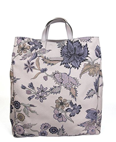 Gucci Unisex Floral Fabric Top Handle Tote Bag 341739 (Mauve)