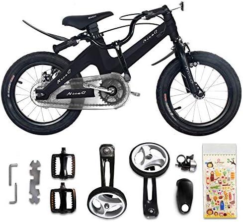 NiceC BMX Kids Bike with Dual Disc Brake for Boy and Girl 12-14-16-18 inch Training Wheels