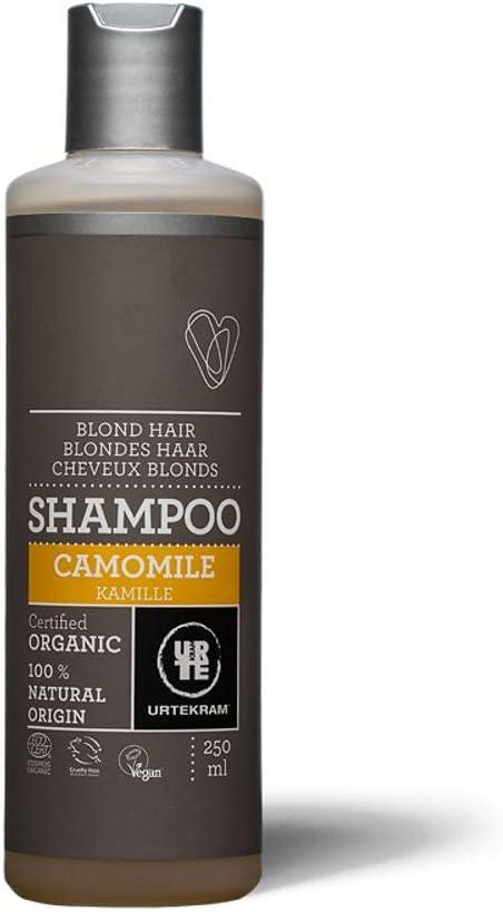 Shampoo Orgânico de Camomila Urtekram Com 250ml