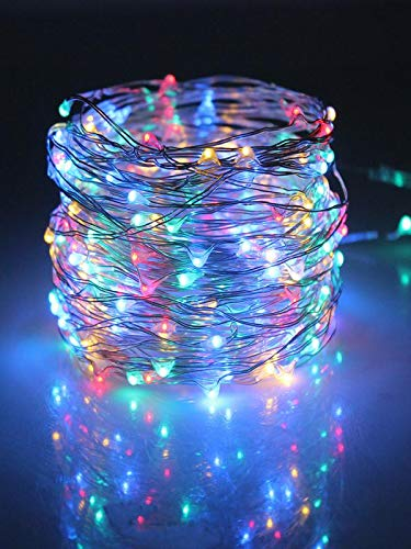 Clearance!!! Glumes 50 LED 16.4FT Christmas String Lights Battery Operated, Fairy String Light for Home Christmas Tree Party Xmas Holiday Wedding New Year Garden Decoration