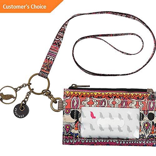 Sandover Sakroots Artist Circle ID Lanyard 9 Colors Travel Wallet NEW | Model LGGG - 10948 |