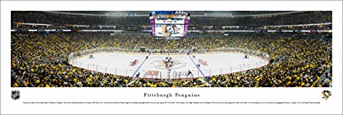 (Pittsburgh Penguins - Unframed 40 x 13.5 Poster by Blakeway Panoramas)