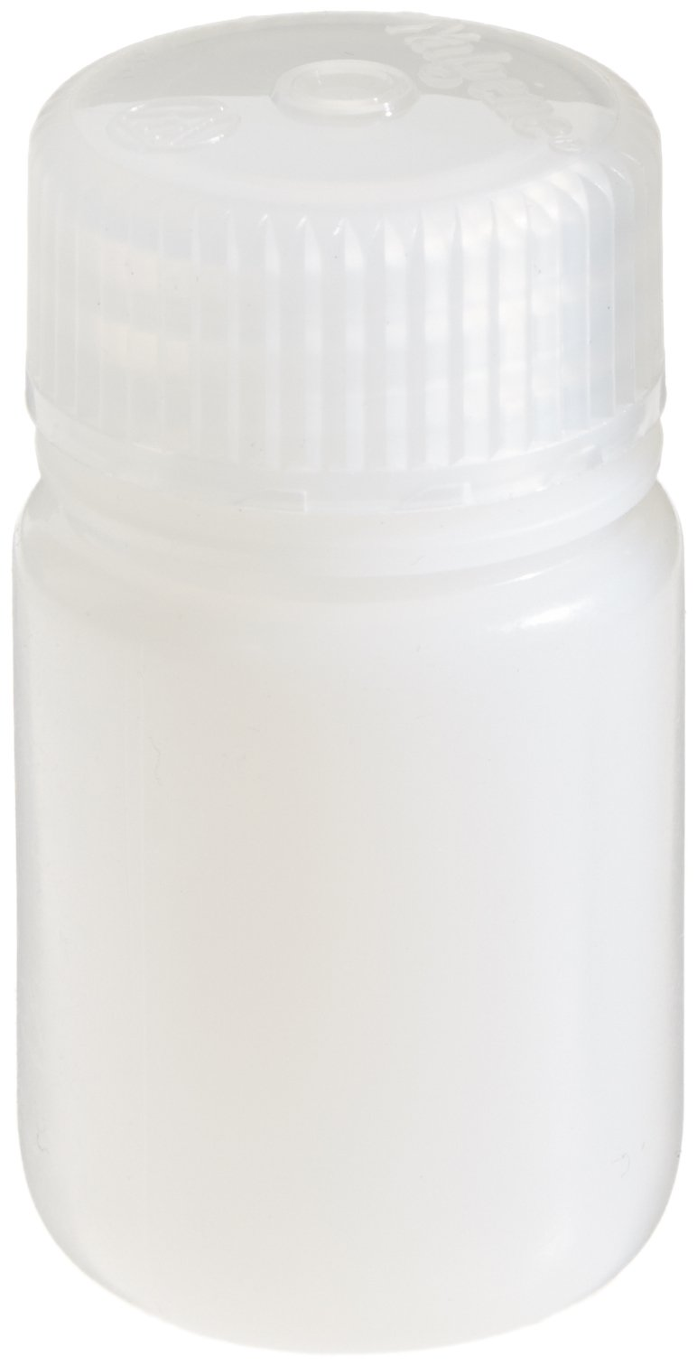 Nalgene HDPE Wide Mouth Round Container, 1 Oz