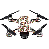 Skin For DJI Spark Mini Drone – Bouganvilla | MightySkins Protective, Durable, and Unique Vinyl Decal wrap cover | Easy To Apply, Remove, and Change Styles | Made in the USA