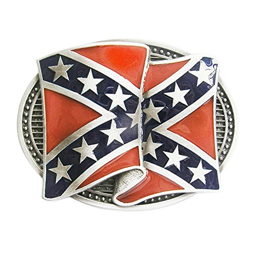 Vintage Great American Flag Blank Belt Buckle Mix Styles Choice Stock in US (8) Confederate Flag Belt Buckle