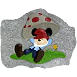 Design International Group LDG88031 Mickey Gnome Stepping Stone Chilling