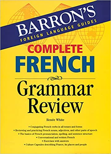 Barron's Complete French Grammar Review: Barrons: 9788183074469