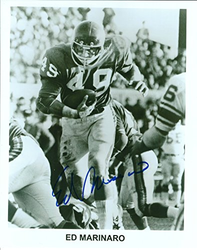Photo Autographed Ed 8x10 - Autographed Ed Marinaro 8x10 Cornell University Photo