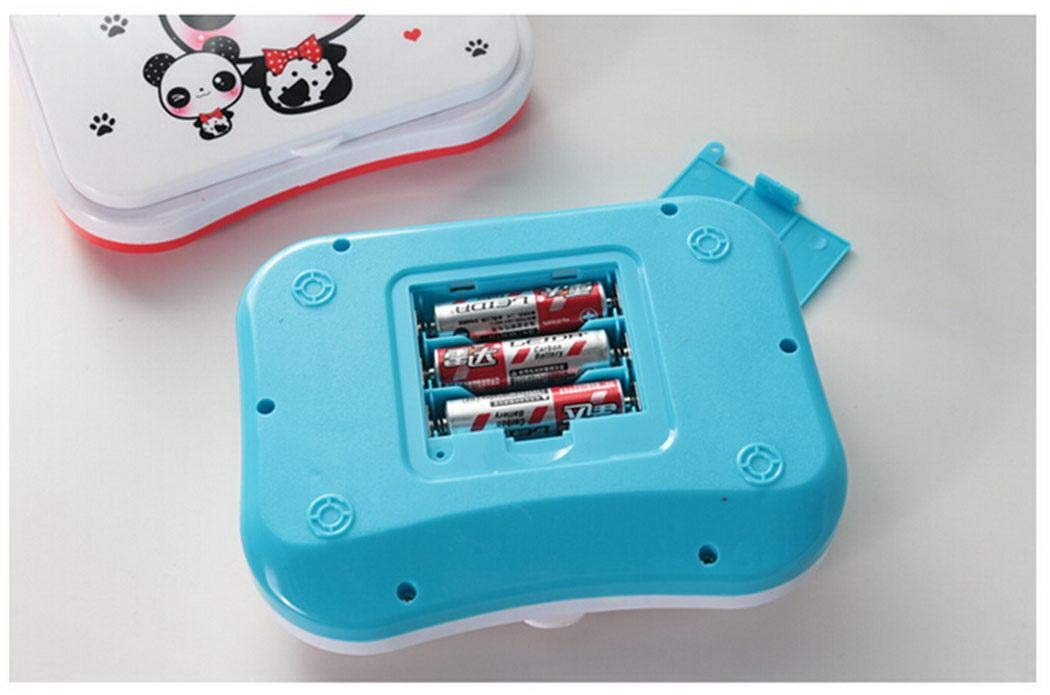 Cokil 20.5 x 16.5cm Multifunction English Learning Reading Machine for Baby Kids Developmental Educational Toys El Foreign Languages