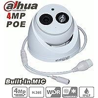 Dahua audio IP Camera IPC-HDW4431C-A 2.8mm 4MP audio Full HD IR Mini Dome PoE Network Camera IP67 Built-in Mic phone