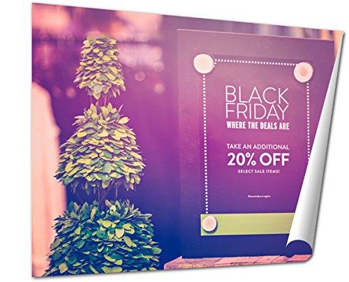 Ashley Giclee Fine Art Print, Shopping On Black Friday, 16x20, - Colorado Mall Park Meadows