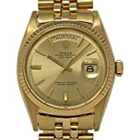 Rolex Day-Date Swiss-Automatic Male Watch 1803 (Certified Pre-Owned)