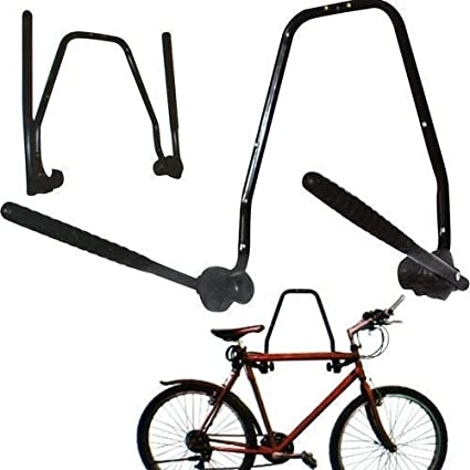Quinta Gear de pared bicicleta plegable 3 estante de almacenamiento de pared para