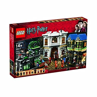 LEGO Harry Potter Diagon Alley 10217 (Discontinued by manufacturer): Toys & Games