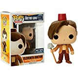 Funko - Figurine Doctor Who - 11th Doctor Fez & Mop Exclu Pop 10cm - 0849803057183