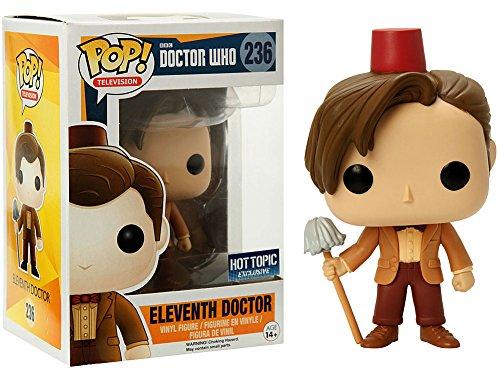 2 opinioni per Funko- Figurine Doctor Who- 11th Doctor Fez & Mop Exclu Pop 10cm- 0849803057183