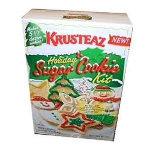 Krusteaz Holiday Christmas Cookies Sugar Cookie Kit