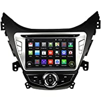 8 Inch Quad Core 1024*600 Android 5.1 Car DVD GPS Navigation Player for Hyundai Elantra / Avante / I35 2011-2013 With Radio Bluetooth 3G Wifi Steering Wheel Control