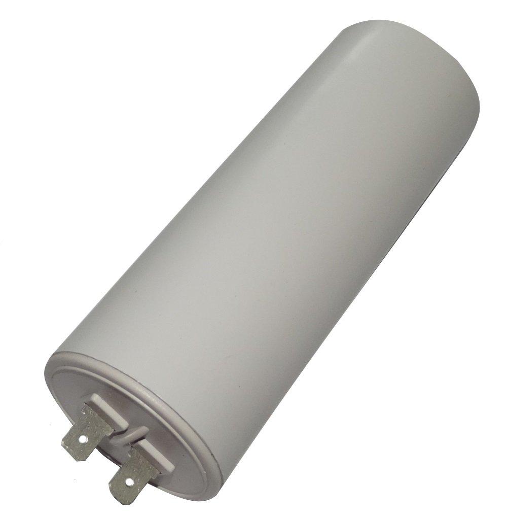Aerzetix: Condensateur permanent de travail pour moteur 45µ F 450V avec cosses Ø 45x119mm ± 10% 10000h C18741 C18741-AL730