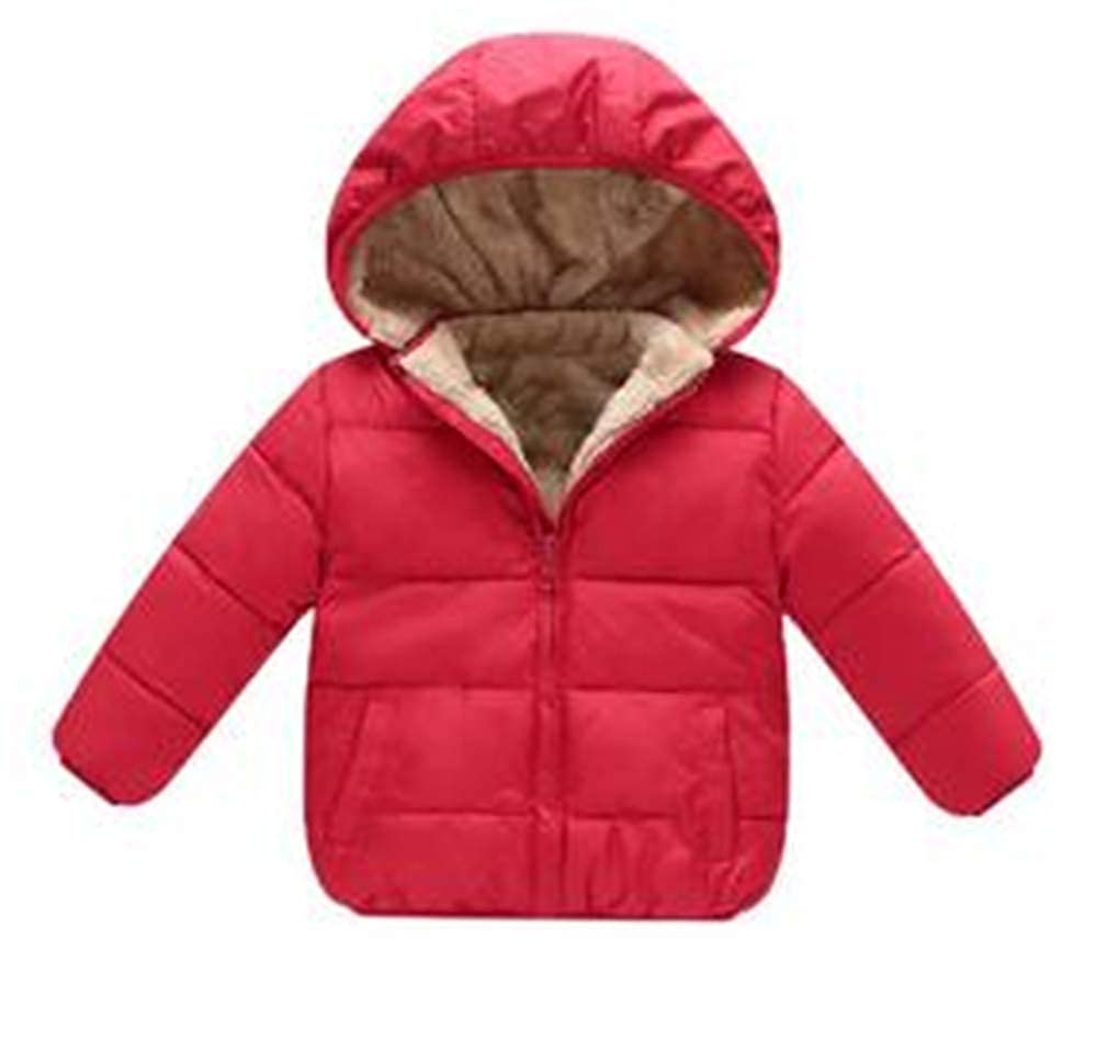 CHUN YUJIE Baby Boys Winter Coats Outerwear Hooded Parkas Baby Jackets Thicken Warm Outer Clothing