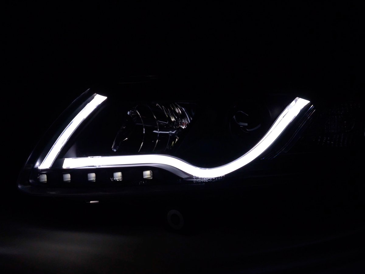 Small FK Automotive FKFSOP14007 Daylight Headlight Black