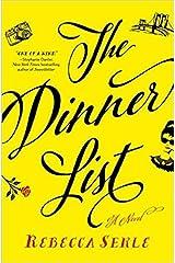 [By Rebecca Serle ] The Dinner List: A Novel (Hardcover)【2018】by Rebecca Serle (Author) (Hardcover)