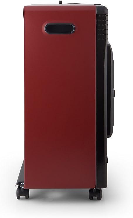 Orbegozo HBF 95 Estufa de Butano Catalítica, Triple Sistema de Seguridad, 3500 W, Negro/Burdeos