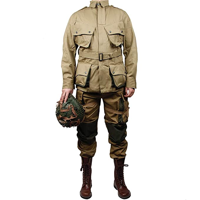 Amazon.com: ZWJPW-WW2 US Army m42 Uniforme 101 Air Force ...