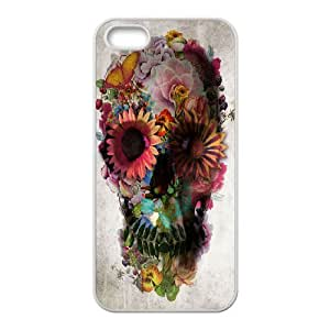Skull Customized Cover Case for Iphone 5,5S,custom phone case ygtg556900
