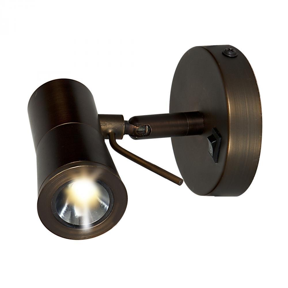 Access Lighting Cyprus 2 LED Plug-In Headboard Lamp - Bronze Finish