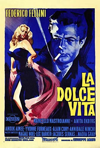 Amazon.com: La Dolce Vita POSTER Movie (27 x 40 Inches - 69cm x ...