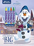 Little Snowman, Big Adventures: With over 30 Stickers! (Disney Olaf's Frozen Adventure)