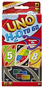 Uno H2O To Go Card Game