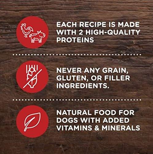 Rachel-Ray-Nutrish-Peak-Natural-Grain-Free-Wet-Dog-Food-Variety-Pack-6-Flavor-Variety-Pack-35-Oz-Each-Plus-Dog-Bone-Eco-Friendly-Poop-Bags-8-Items-Total