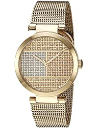 Womens Quartz Tone and Gold Plated Casual Watch(Model: 1781867)