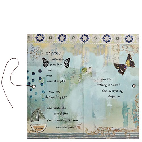 Kelly Rae Roberts Angel Ornament Card - TRUST YOUR JOURNEY Photo #2