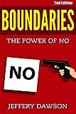 Boundaries: The Power of NO
