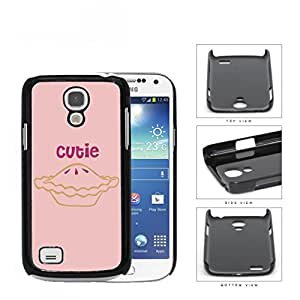 Cutie Pie With Mini Heart Shape Pink Hard Plastic Snap On Cell Phone Case Samsung Galaxy S4 SIV Mini I9190