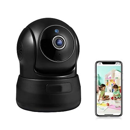 LKJCZ Cámara De Seguridad Inalámbrica, 720P HD Home WiFi Wireless Seguridad Vigilancia Cámara IP con