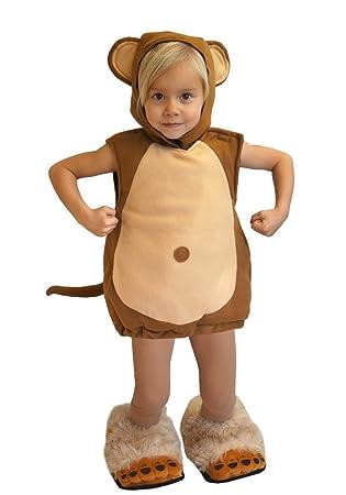 Baby Affe Kinder Kostum 86 92 Fur Fasching Karneval Kinderkostum