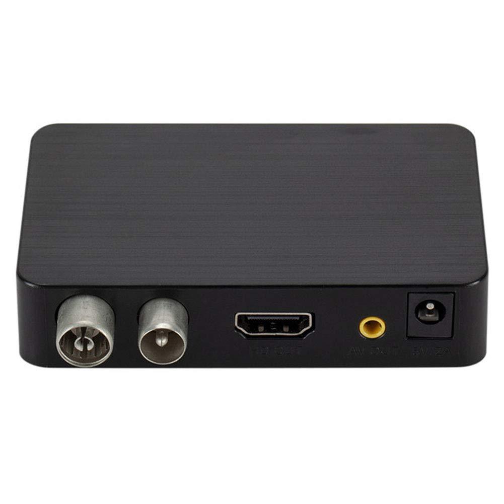 Sortie HDMI AV pour Anciens et Nouveaux t/él/éviseurs enregistrer 6SHINE D/écodeur TNT HD Regarder 9.2x5.7x2cm Lire et Mettre en Pause la TV en Direct en Haute d/éfinition 1080p