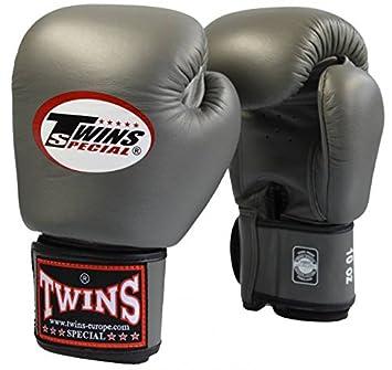 Kick-Thaiboxen TWINS Boxhandschuh dunklelgrau Boxen
