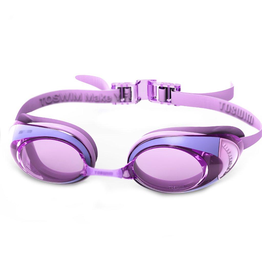 ZHOU LI Wasserdichte UV-Schwimmbrille, HD-Anti-Fog-Schwimmlinse, verstellbare Komfort-Silikon-Stirnbänder geeignet für für für Freizeit Fitness Erwachsene, Unisex B07CK391TW Schwimmbrillen Umweltfreundlich aabc9b