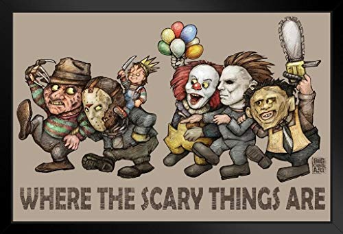 Where The Scary Things are by Big Chris