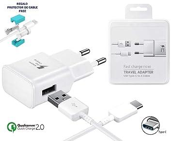 TPC - Cargador Rápido Original EP-TA20EWE (15W) USB-C para ...