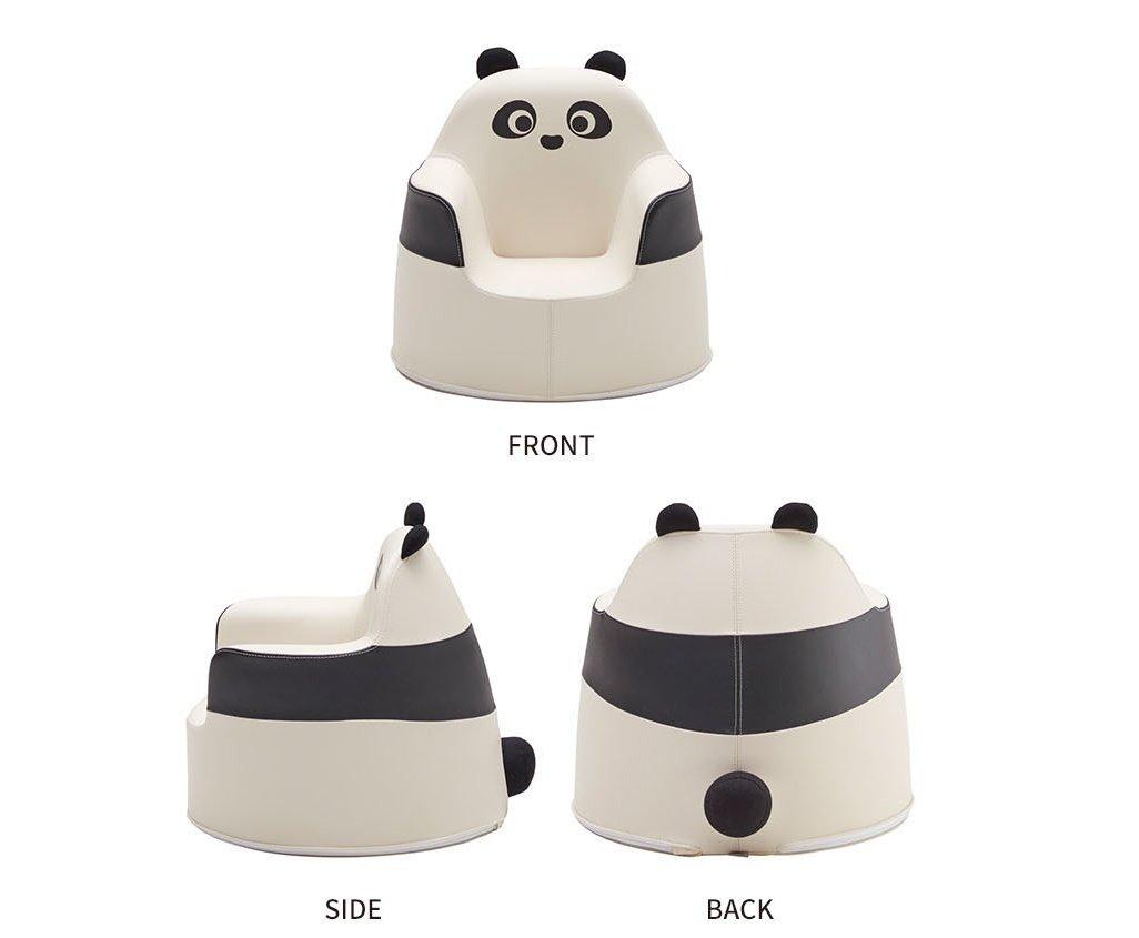 iloom 2017 New Panda Aco Infant Kids Children Sofa Ivory