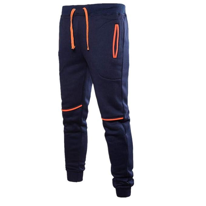 55140ce9f8a2e ZARLLE Pantalones Hombre Deporte Pantalones Entrenamiento Fitness Jogger