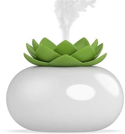 LAOZI Diffusori di olio essenziale per aromaterapia camera da letto-bianco ufficio fuochi dartificio 3D Diffusore di olio essenziale aromaterapia LED Umidificatore ad ultrasuoni per casa